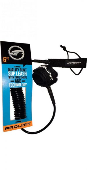 Prolimit Coiled Leash 6'